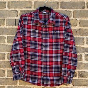 Gymboree, Girls XL, Plaid Flannel Shirt, Button-Up